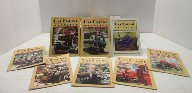 (94) Original Gas Engine Magazines, Include: April 1999 to March 2008