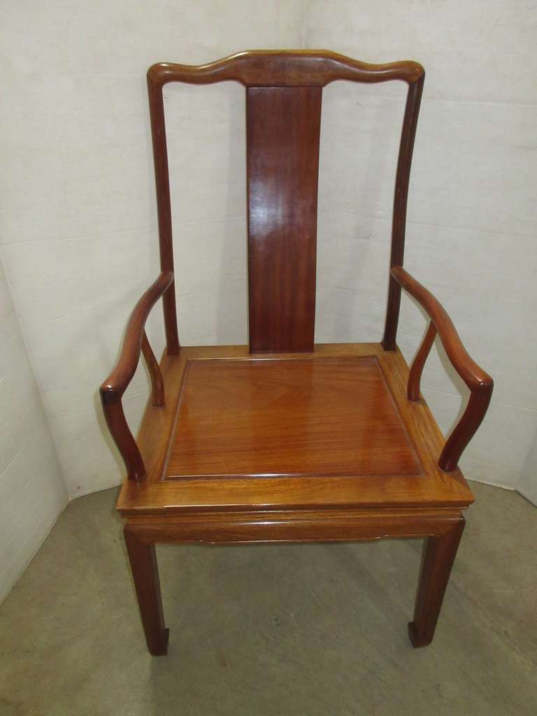 Wood Captains Chair