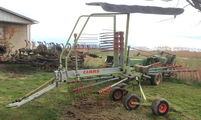 Class 470T Rotary Rake, Good Condition