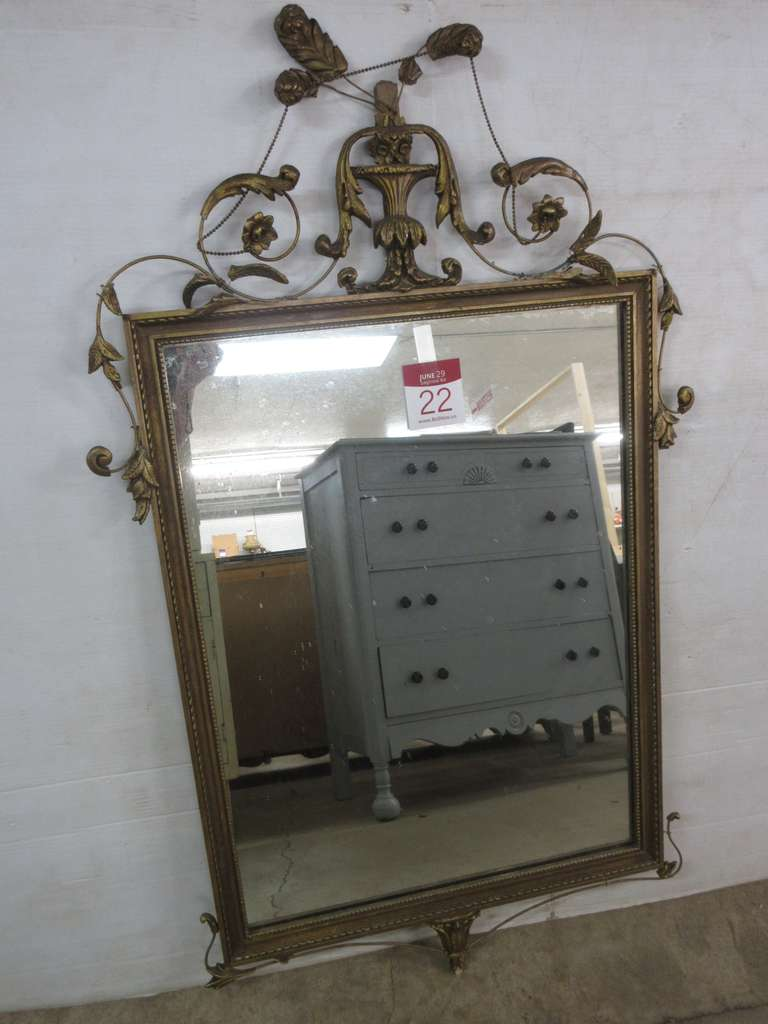 Older Ornate Mirror