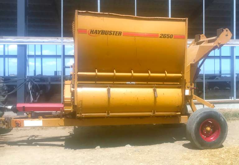 Haybuster 2650, Good Condition, Works Well