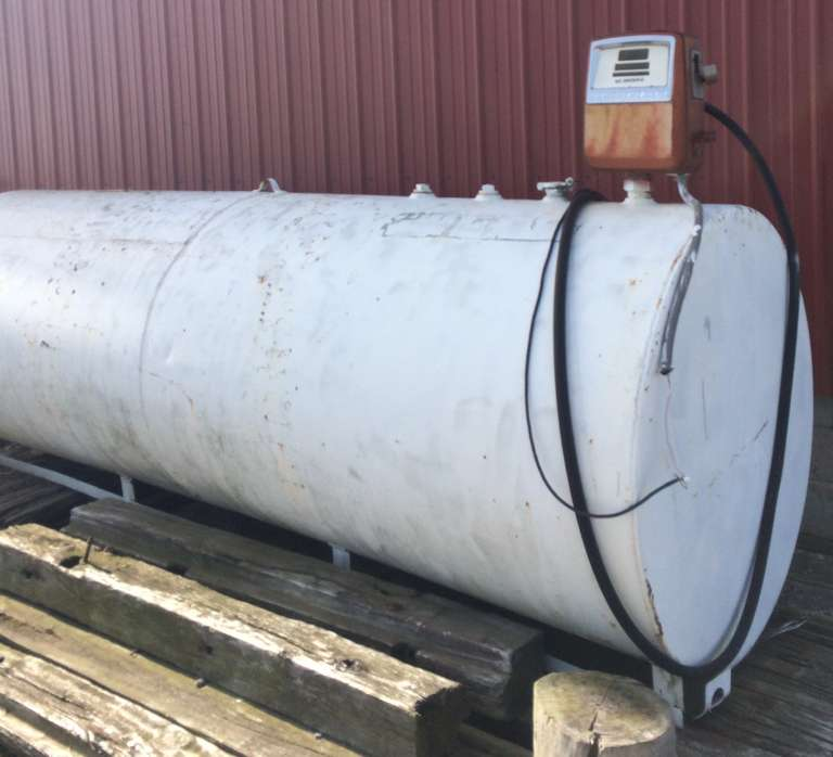 Approx. 1000-Gallon Diesel Tank with Pump, Seller Can Load on Trailer for Buyer