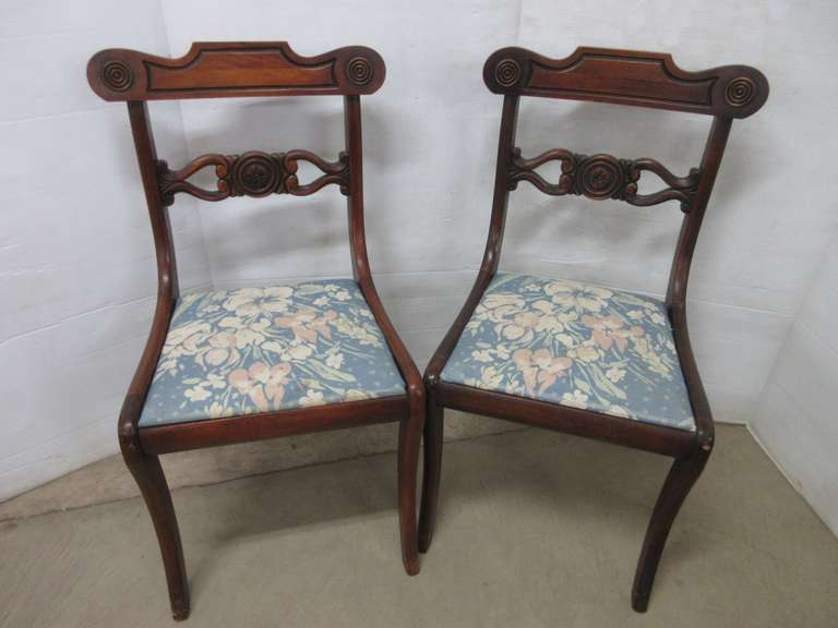 (2) Wooden Side Chairs, Solid Structure