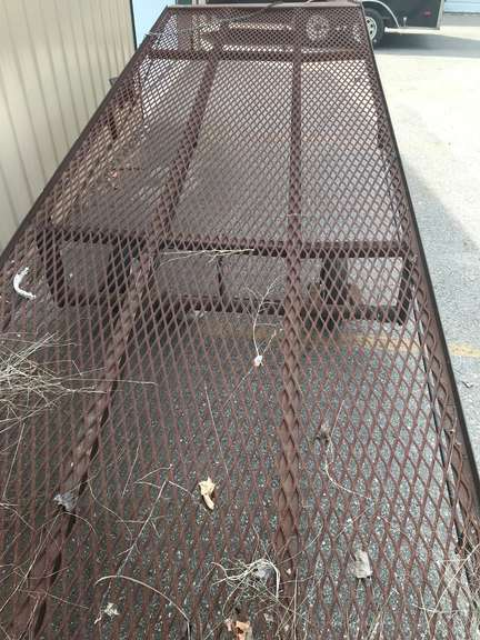 "Adjustable Loading Ramp, Portable, Measures 5'W x 21'L, Raises Up to 44"" High"