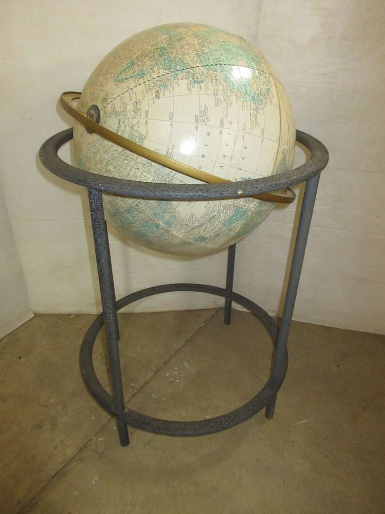 World Globe with Stand