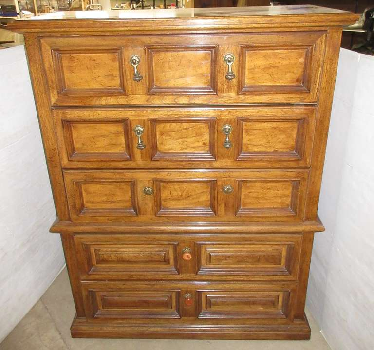 Five-Drawer Thomasville Dresser