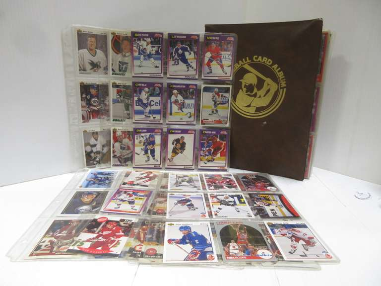 Hundreds of MLB Cards, Include Star Athletes; (51) NHL Cards