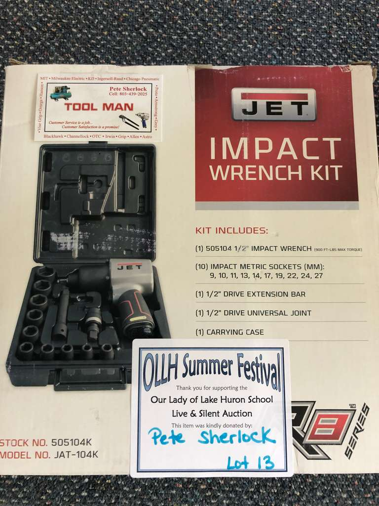 JET Impact Wrench Kit