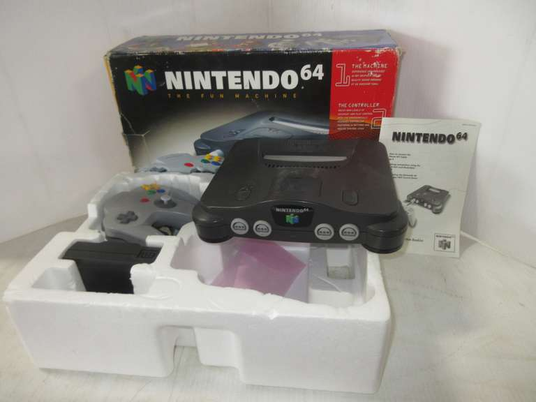 Nintendo 64 Video Game System in Box