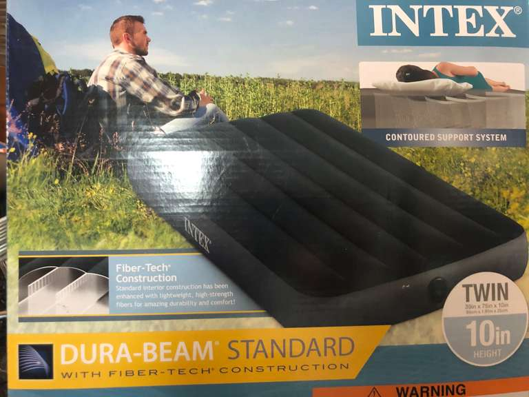 Twin Size Intex Air Mattress