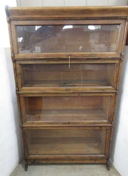 Four-Section Barrister Bookcase