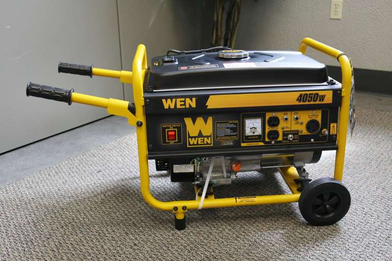 August 11th YFC Benefit Auction! THIS IS AN ADVERTISEMENT for Wen 4050W Gas Powered Generator selling in the Online YFC Benefit Auction Closing Tuesday, August 11th!