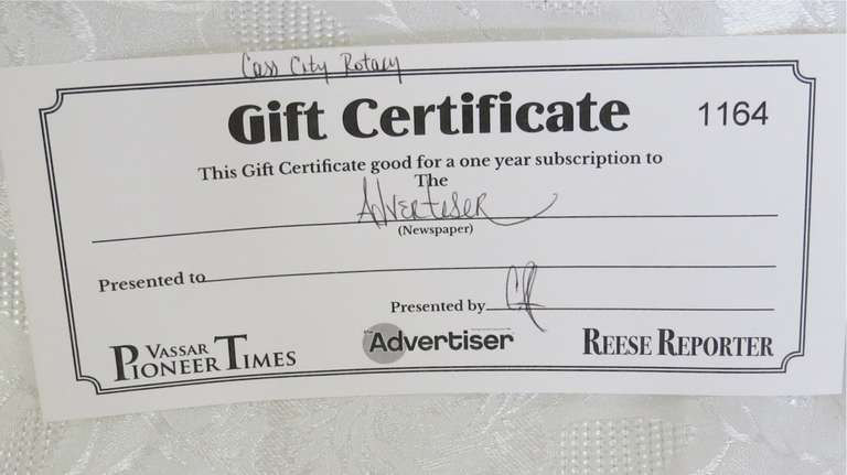 TCAdvertiser Gift Certificate