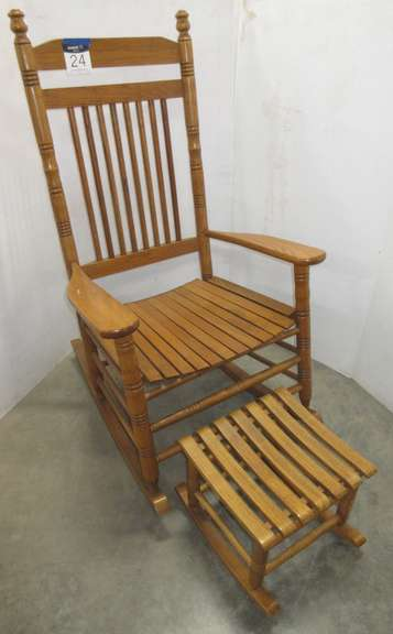 Rocking Chair with Foot Stool