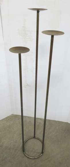 Decorative Candle/Knick Knack Stand, Metal