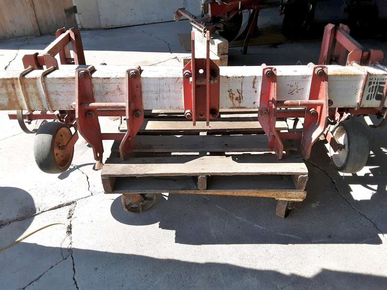 "LIlliston Toolbar Cultivator, 3-Point, 53"" Opening, Used Over Vegetable Row after Laying Plastic"