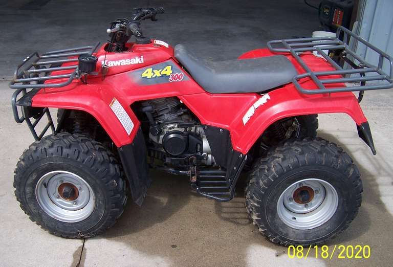 Kawasaki Bayou 300, Low Miles, Needs Needle Valve in Carburetor