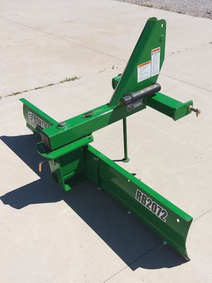 Frontier 6' Rear Blade, Manual Angle and Tilt, Always Housed, New, Never Used