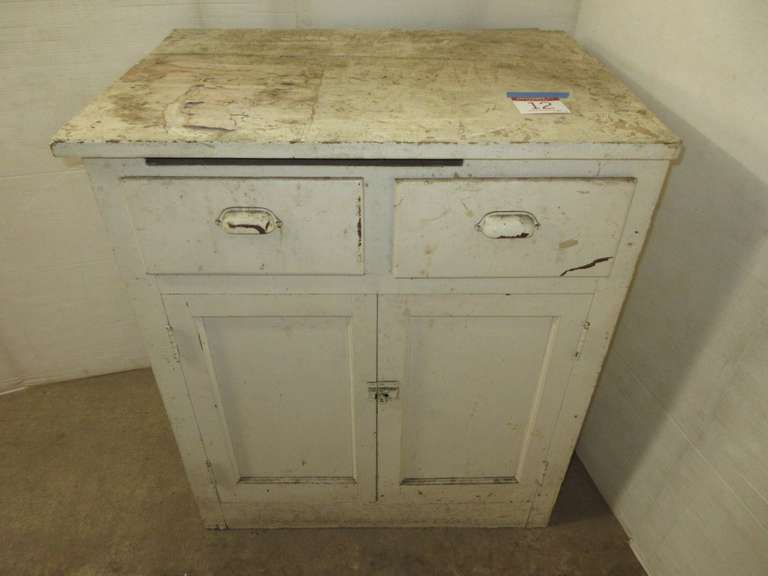 Older Kitchen Cabinet