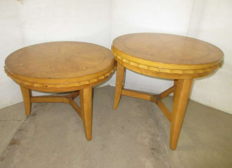 Coffee Tables, Matches Lot No. 17