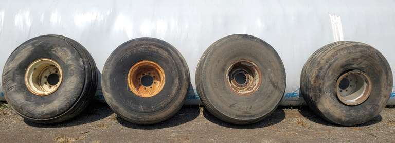 (4)-Implement Tires 21.5Lx16.1, 3-are Currently with Air but All Tires are Good