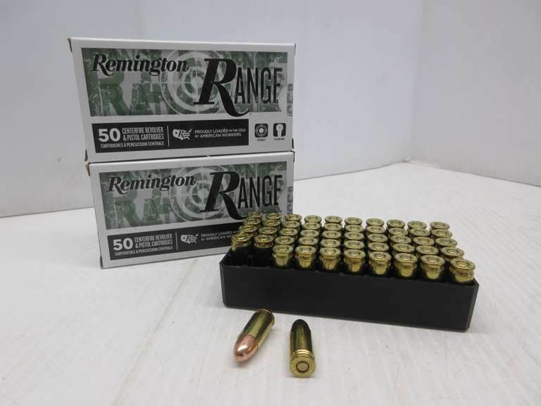 (2) Boxes of Remington 9mm Luger Ammo, 115 Grain FMJ, 100 Total