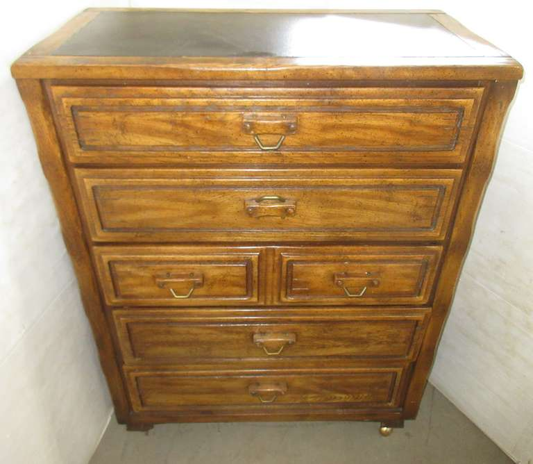 Five-Drawer Wood Dresser, Matches Lot No. 29