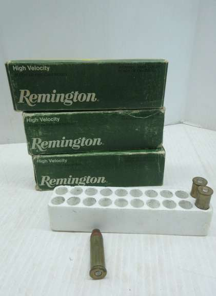 (2) Full Boxes of Remington .44 Mag Hollow Points, and (3) Loose Rounds, 43 Total