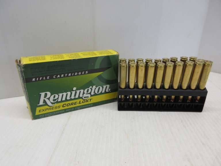 (20) Rounds of .270 Win. Remington Ammo, 130 Grain, Core Lokt