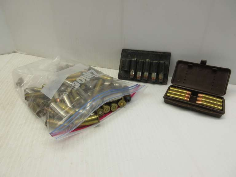 (155) Rounds of Pistol Ammo, Lots of Hollow Points of 357, 380, 44, 38 Special, and 9mm