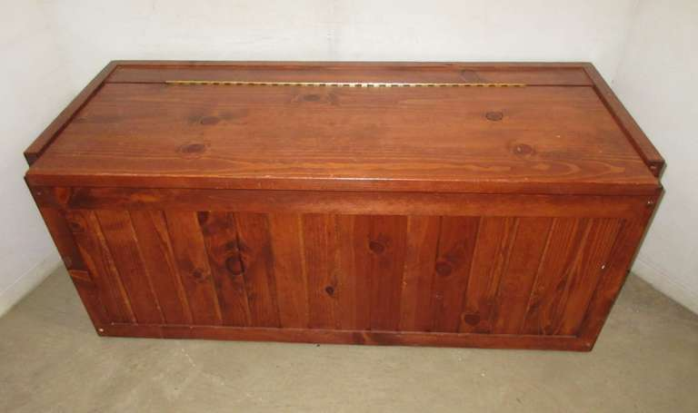 Pine Wooden Hope Chest