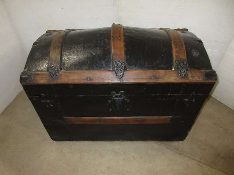 Antique Trunk, Dome Top