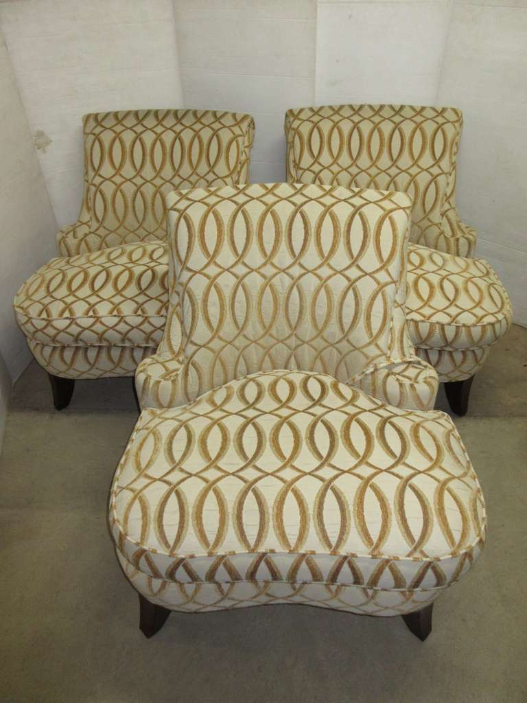 (3) Club Chairs, Matches Lot No. 14