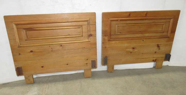 (2) Habitat Bay City Twin Size Headboards