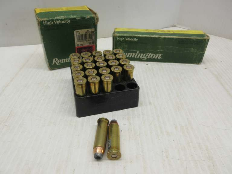 (2) Full Boxes of Remington .44 Mag Hollow Points