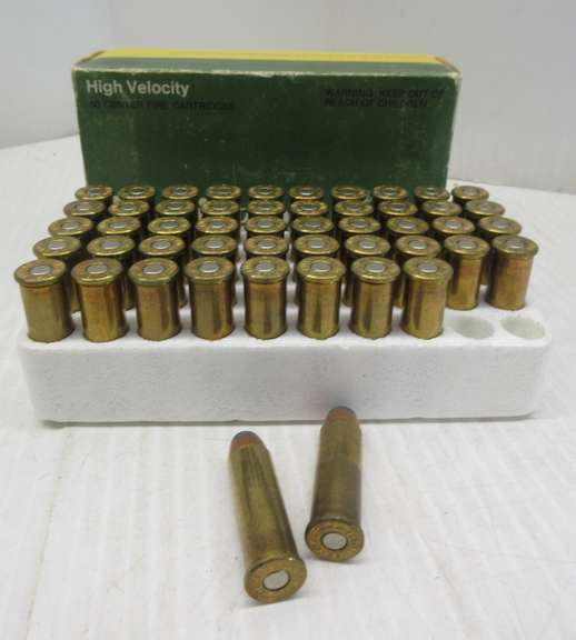 (50) Rounds of Remington .41 Rem Mag Ammo, 215 Grain, Soft Point