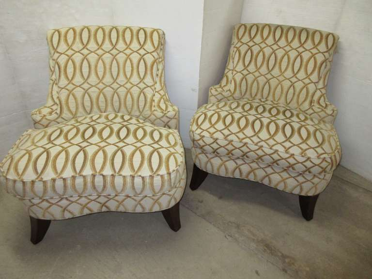(2) Club Chairs, Matches Lot No. 15