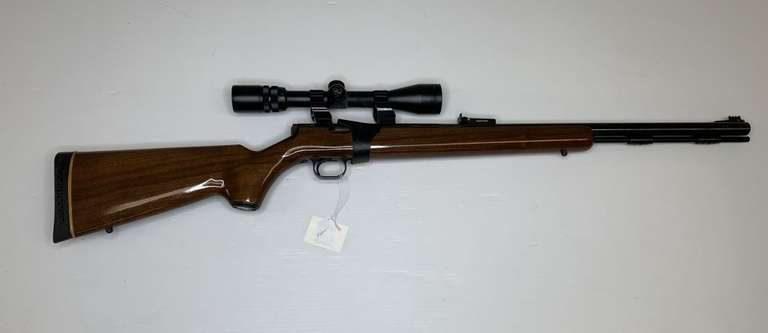 Thompson Center Arms Black Diamond .50 Cal. with T/C Scope, This Item is From the Gerald Force Estate of Millington, MI