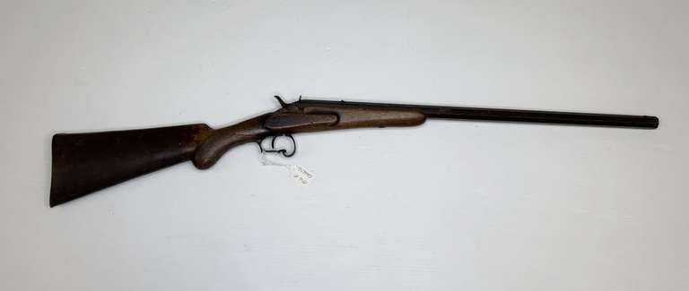 Antique Stephens 1913 .22 LR with Octagon Barrel, Has Both Front and Rear Sights