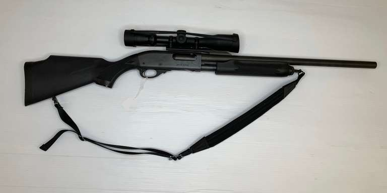 Remington 870 Slug with Tasco Oval Scope, 12-Gauge