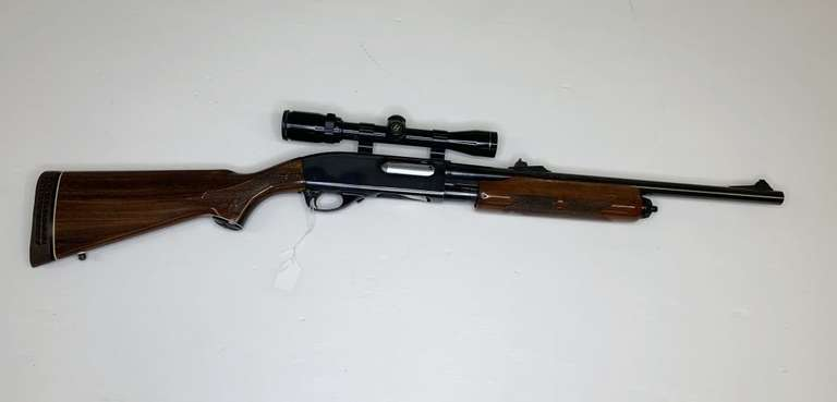 Remington Wingmaster 870 12-Gauge with Bushnell Scope, This Item is From the Gerald Force Estate of Millington, MI