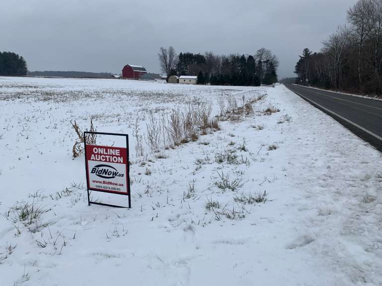 SOLD!  February 23rd (Tuesday) 150.36 Acres of Tiled Farmland Including 5.75 Acres of Woods-Hemlock (Saginaw County)
