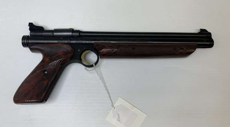 Crosman Medalist Model 1322 .22 Air Pistol, This Item is From the Gerald Force Estate of Millington, MI