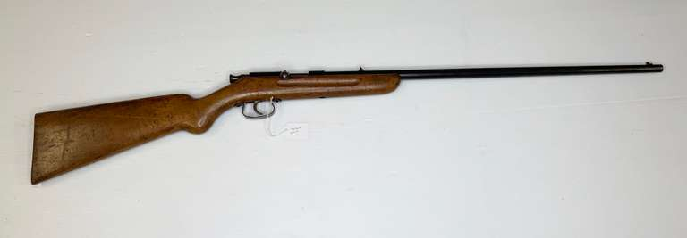 Saxonia Smooth Bore Rifle, Possibly a 17 Cal., 57 on Bolt