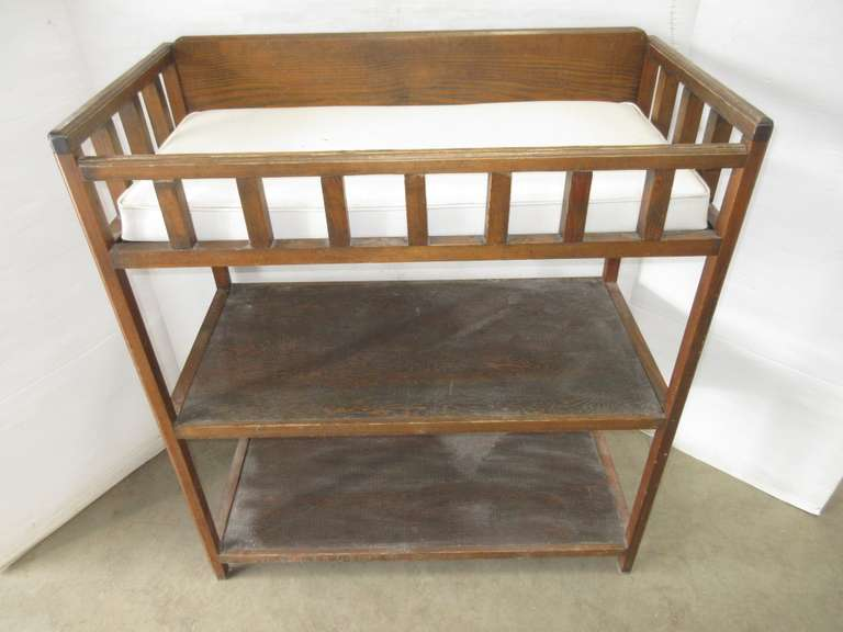 Baby Changing Table with Shelves