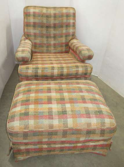 Chair with Foot Stool