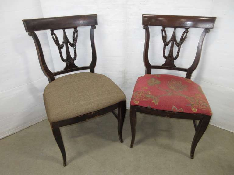 (2) Duncan Phyfe Dining Chairs