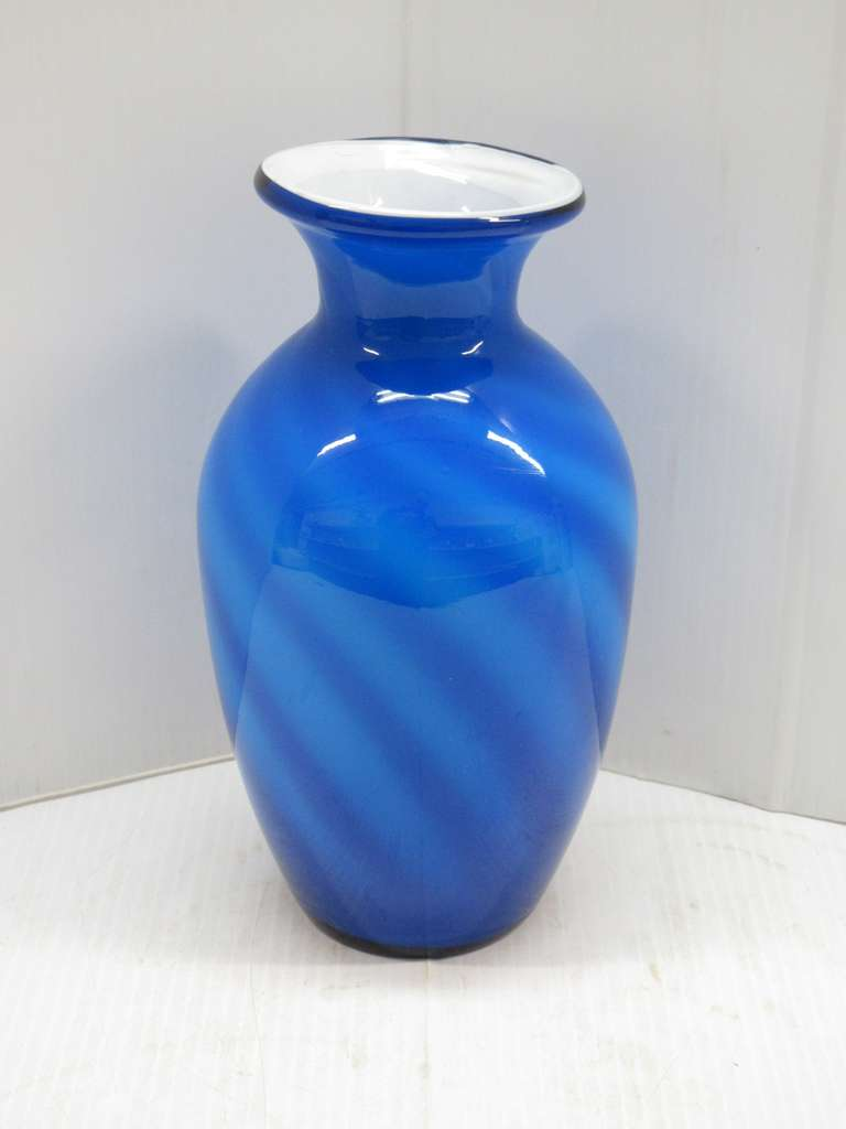 Case Art Glass Vase