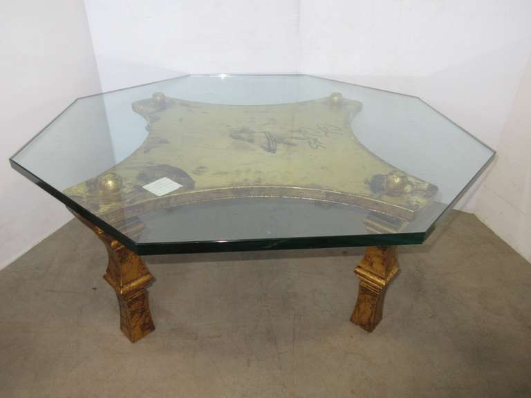 Glass Top Table
