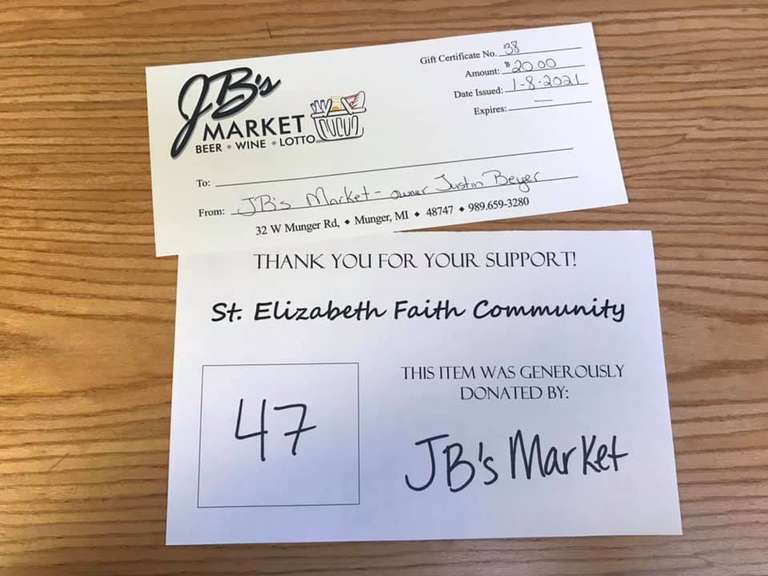$20 JB's Market Giftcard